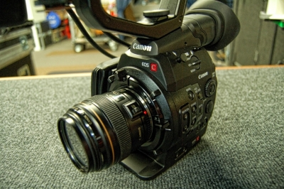 Canon c500 Camera for webcasting