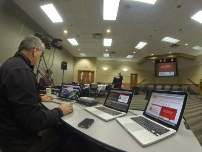 Townhall Webcasting picks up steam