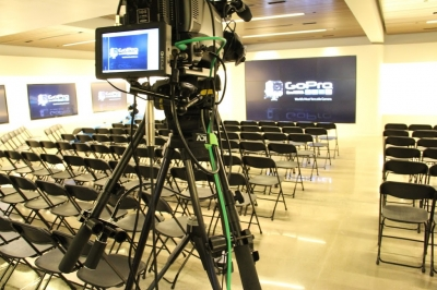 Townhall All-Hands webcasting for GoPro