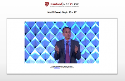 Live Webcasting Services for Stanford MedX Conference