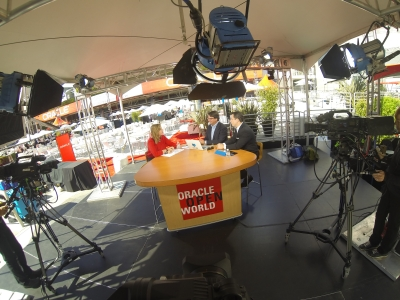 Live Webcasting for Oracle Openworld