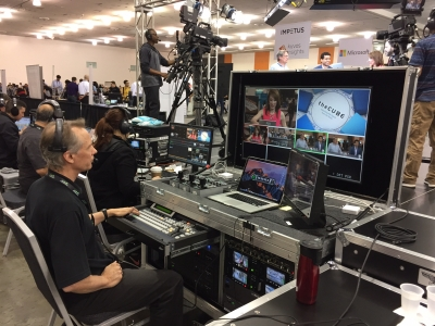 Streaming from AWS re:invent in Las Vegas