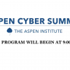 Webcasting in San Francisco for the Aspen Institute