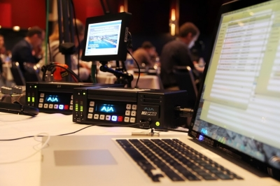 Multi-day conference webcasting for APG