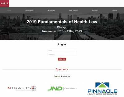 Chicago! Live Streaming for American Health Lawyers