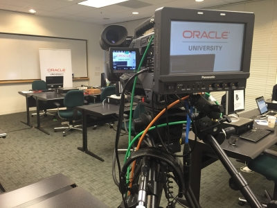 E-learning Webcasting in Washington DC for Oracle
