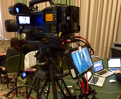 Live Webcast in Brussels for International Pharma Congress