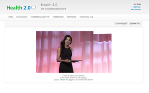 Live Webcasting Health 2.0